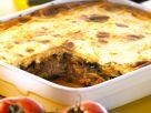 Auberginen-Hackfleisch-Auflauf (Moussaka) Rezept