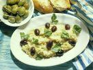 Auberginenpaste mit Knoblauch und Zwiebeln Rezept