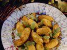 Ausgebackene Kichererbsenklößchen Rezept