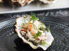 Austern mit Krebssalat Rezept