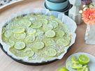 Avocado-Limetten-Tarte Rezept