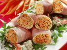 Bacon-Röllchen mit Gemüsefüllung Rezept