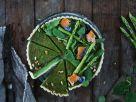 Bärlauch-Spargel-Tarte mit Lachs Rezept