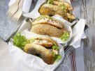 Bagel mit Lachs und Avocadocreme Rezept