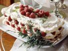 Baiserkuchen mit Himbeeren Rezept