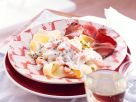 Bandnudeln mit Möhren-Meerrettichsauce zu Roastbeef Rezept