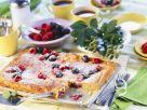Beeren-Blechkuchen Rezept