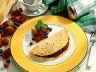 Beeren-Pfannkuchen Rezept