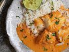 Bengalischer Joghurt-Fisch mit Reis Rezept
