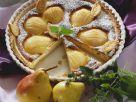 Birnenkuchen mit Marzipan Rezept