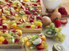 Biskuit-Obstkuchen Rezept