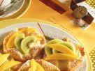 Blätterteig-Früchtetörtchen Rezept