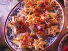 Blätterteig-Räucherlachshäppchen Rezept