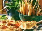 Blätterteig-Tomatenkuchen Rezept