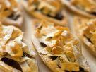 Blätterteiggebäck mit Rockenfrüchten Rezept