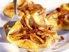 Blätterteigtaschen mit Apfelfüllung Rezept