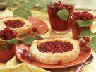 Blätterteikuchen mit Beeren Rezept