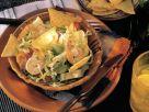 Blattsalat mit Avocado, Tomaten und Shrimps Rezept