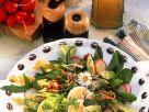 Blattsalat mit Ei und Radieschen Rezept