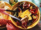 Blattsalat mit Fenchel und Orangen Rezept