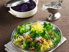 Blattsalat mit Krabben Rezept
