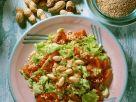 Blattsalat mit Quinoa und Tomaten Rezept