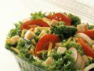 Blattsalat mit Schinken und Käse Rezept