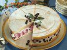 Blaubeer-Biskuit-Torte Rezept