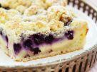 Blaubeer-Quarkkuchen mit Streusel Rezept