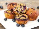 Blaubeer-Zucchini-Muffins Rezept