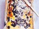 Blaubeerkuchen mit Mandeln Rezept