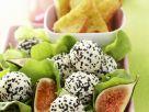 Blissballs herzhaft mit Frischkäse und Sesam Rezept