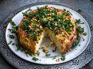 Blumenkohlkuchen mit Grünkohl Rezept