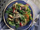 Bohnen-Zwiebel-Salat mit Matjes Rezept
