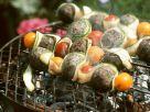 Bohnenbällchen-Spieße Rezept