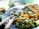 Bohnensalat mit Gemüse Rezept