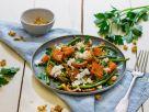 Bohnensalat mit gerösteter Süßkartoffel Rezept