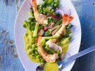 Bohnensalat mit Shrimps Rezept