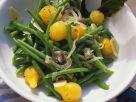 Bohnensalat mit Tomaten Rezept