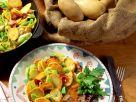 Bratkartoffeln mit Porree Rezept