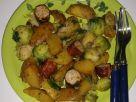 Bratkartoffeln mit Rosenkohl Rezept
