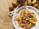Bratkartoffeln mit Speck und Essiggurken Rezept