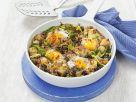 Bratkartoffeln mit Wirsing und Ei Rezept