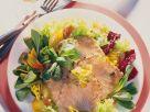 Bratkartoffelsalat mit Graved Lachs Rezept