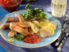 Bratwürstchen mit Kartoffelsalat Rezept