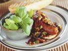 Brötchen mit Wurst und Gemüse Rezept