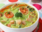 Brokkoli-Flan mit Putenfleisch Rezept