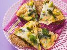 Brokkoli-Frittata mit Grogonzola Rezept