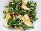 Brokkoli-Quinoasalat mit Halloumi-Käse Rezept