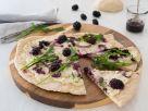 Brombeer-Ziegenkäse-Pizza Rezept